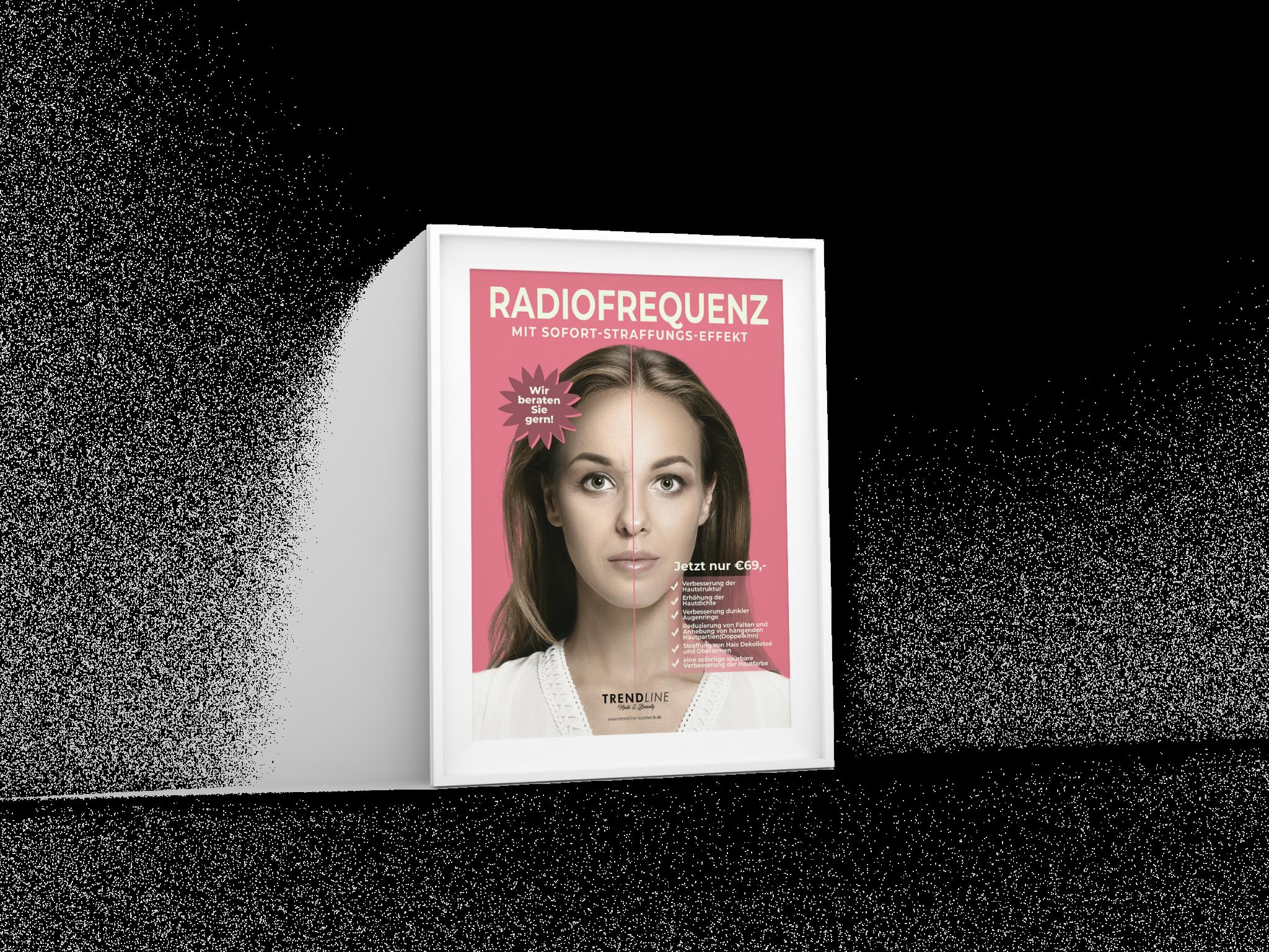 A1 Poster Trendline radiofrequenz