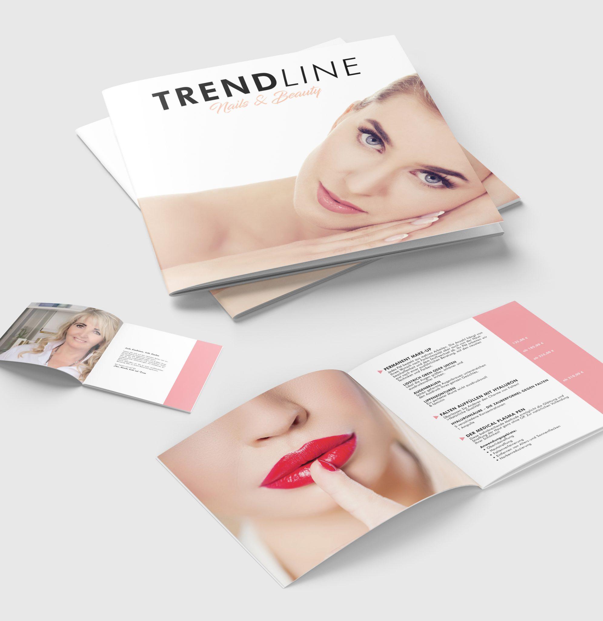 corporate design trendline