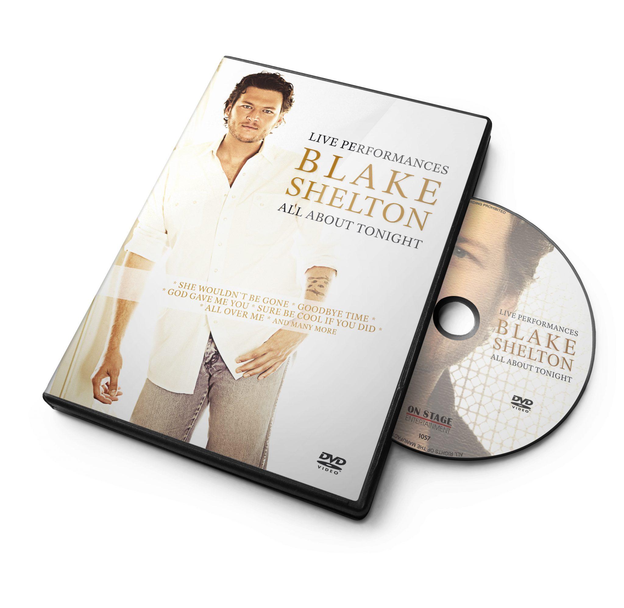 blake shelton-all about_dvd