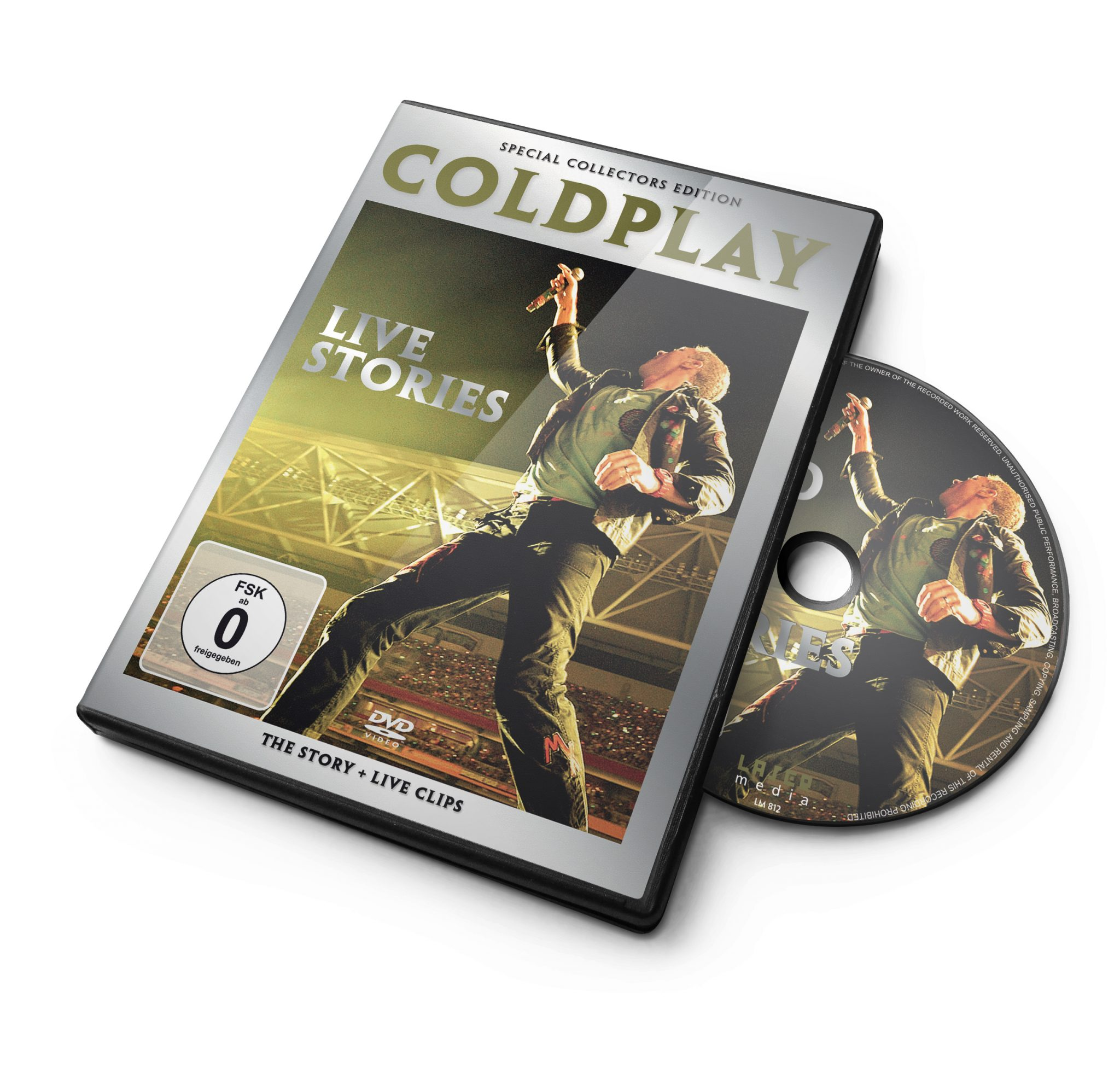 coldplay story_dvd
