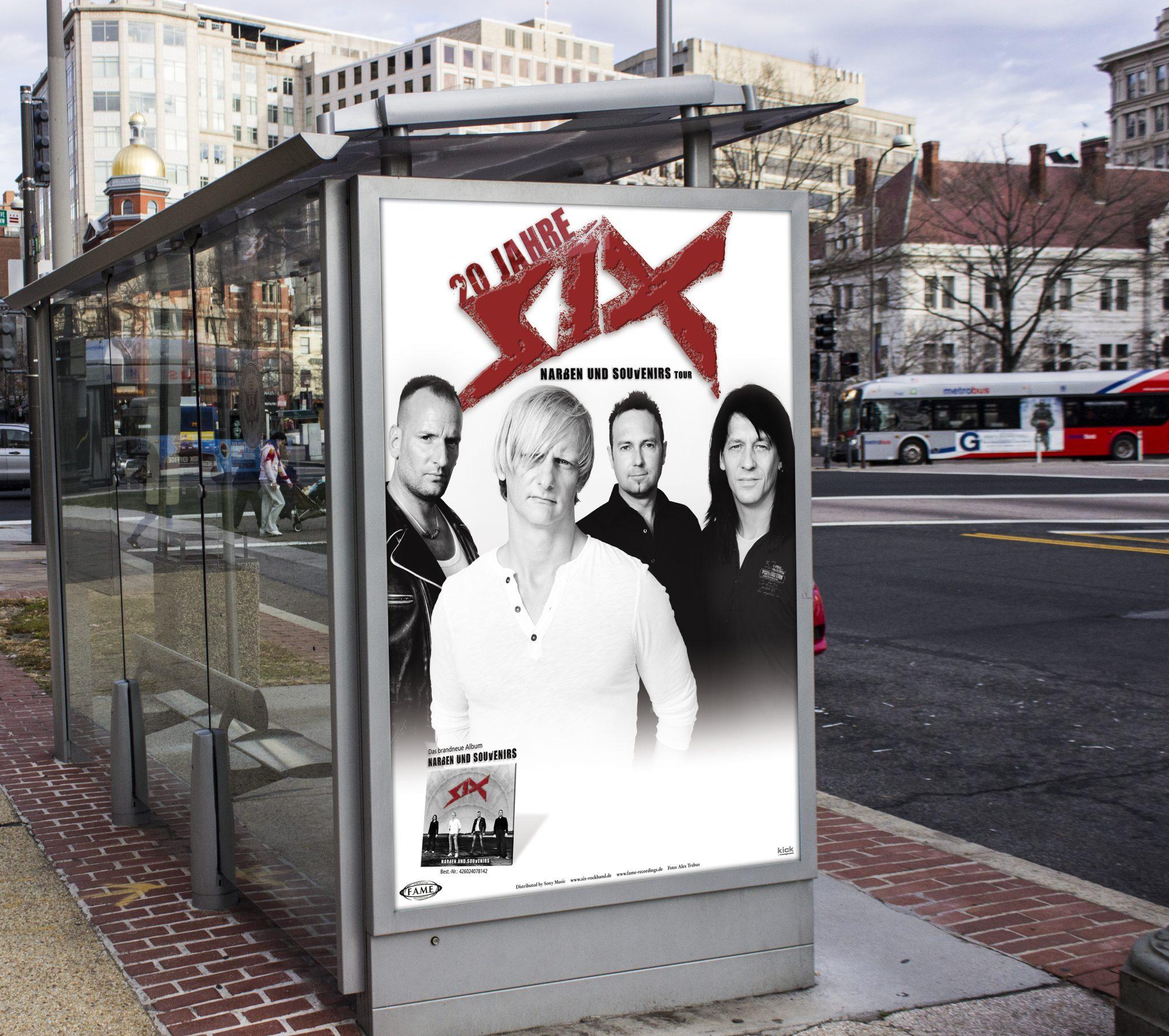 six-plakat
